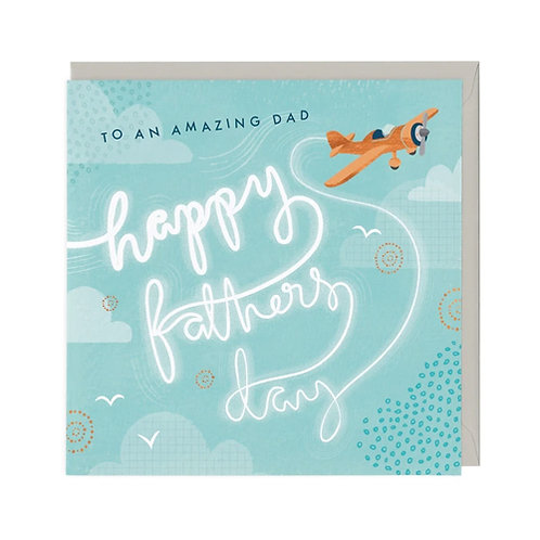 Classic Plane Father's Day Card