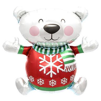 Polar Bear Supershape Balloon