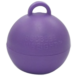 Purple Bubble Balloon Weight
