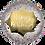 """Thumbnail: Gold Burst Satin Birthday 18"""" Foil Balloon"""