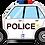 "Thumbnail: Police Car 34"" Foil Balloon"