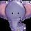 Thumbnail: Elephant Head Supershape Balloon