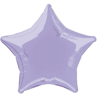 Lilac 18 inch Star Foil Balloon