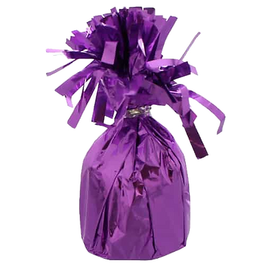 Lavender Tinsel Bomb Balloon Weight