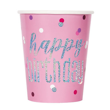 Glitz Pink Party Cups