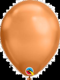 """Chrome Copper 11"""" Latex Balloon"""