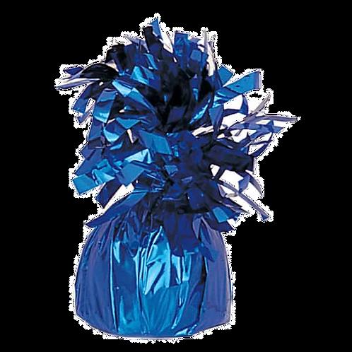 Blue Tinsel Bomb Balloon Weight