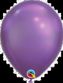 """Chrome Purple 11"""" Latex Balloon"""
