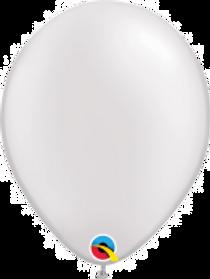 """Pearl White 11"""" Latex Balloon"""