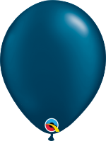 "Pearl Midnight Blue 11"" Latex Balloon"
