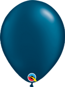 "Pearl Midnight Blue 11"" Latex Balloon"