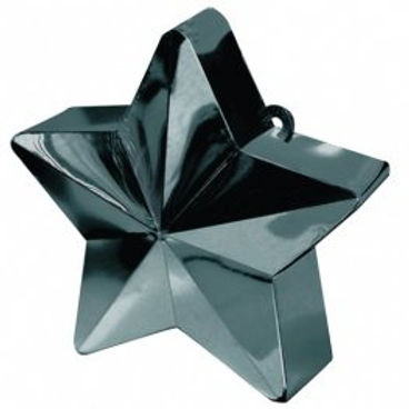 Black Star Balloon Weight