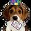 """Thumbnail: Birthday Puppy 41"""" Foil Balloon"""