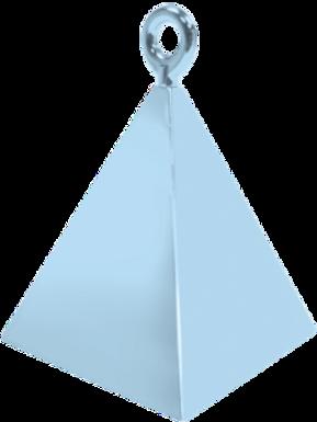 Light Blue Pyramid Balloon Weight