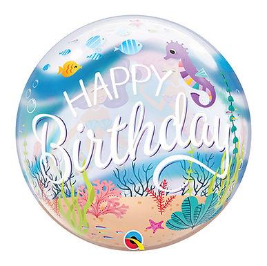 Mermaid Birthday Party Bubble Balloon