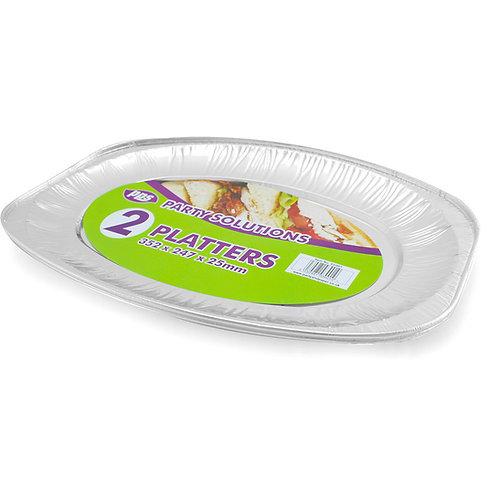 Foil Platters 352x247x25mm
