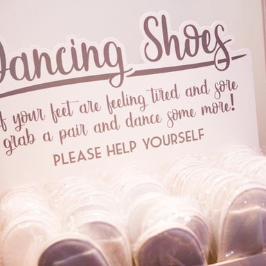 Dancing Shoes custom box