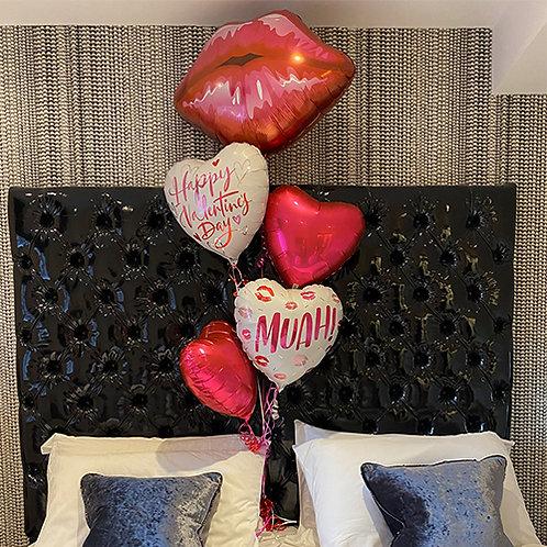 Valentines Supershape Bouquet