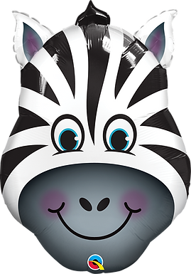 Zebra Supershape Balloon