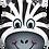 Thumbnail: Zebra Supershape Balloon