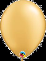 "Gold 11"" Latex Balloon"
