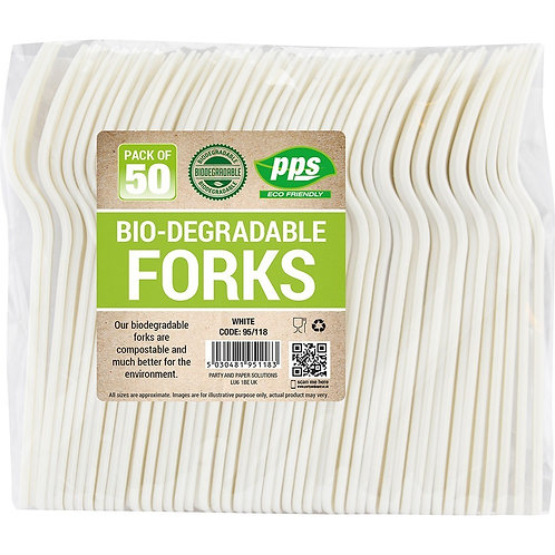Bio Degradable Forks