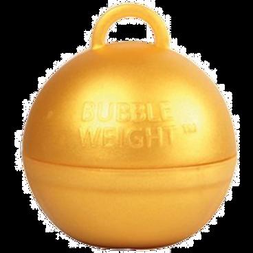 Gold Bubble Balloon Weight