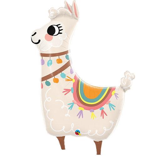 Loveable Llama Supershape Balloon