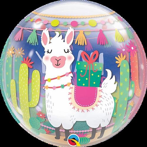 Llama Birthday Party Bubble