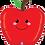 "Thumbnail: Produce Pal Apple 26"" Foil Balloon"