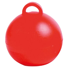Red Bubble Balloon Weight