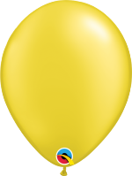 "Pearl Citrine Yellow 11"" Latex Balloon"