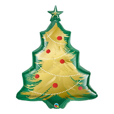 Christmas Tree Supershape Balloon