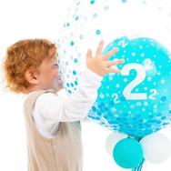 2nd Birthday Bubble Balloon