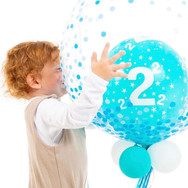 2nd Birthday Bubble Balloon