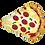 "Thumbnail: Pizza Slice 29"" Foil Balloon"