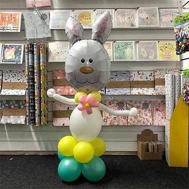 Girl Bunny Easter Balloon Display