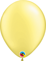 "Pearl Lemon Chiffon 11"" Latex Balloon"