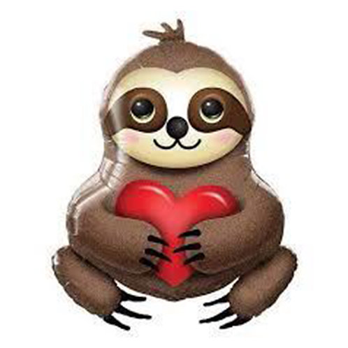 Adorable Sloth Supershape Balloon