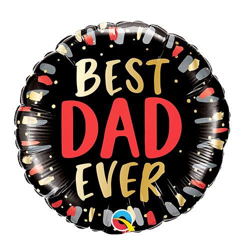 Best Dad Ever Foil Balloon