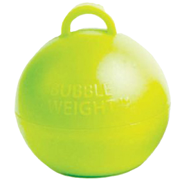 Lime Green Bubble Balloon Weight