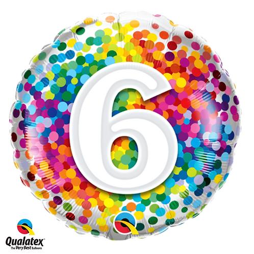 Colourful Age Balloon