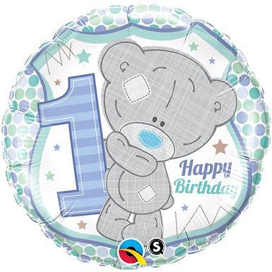 Me To You Tiny Tatty Teddy 1st Birthday Boy Foil Balloon