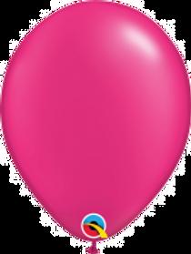 "Pearl Magenta 11"" Latex Balloon"