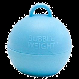 Light Blue Bubble Balloon Weight