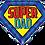 """Thumbnail: Super Dad 30"""" Foil Balloon"""