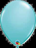 "Caribbean Blue 11"" Latex Balloon"