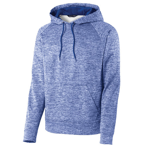ST225 Sport-Tek® PosiCharge® Electric Heather Fleece Hooded Pullover