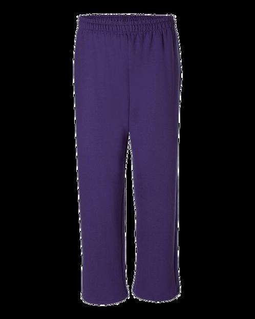 18400 Gildan® Heavy Blend™ Open Bottom Sweatpant