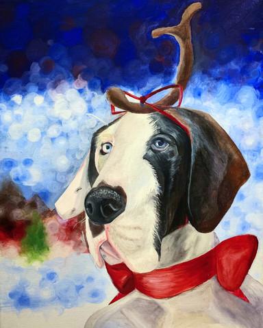 Christmas Doggo Comission